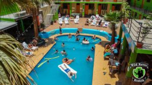 hostel pool